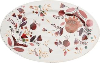 Anthropologie Home Pheasant Moths Large Platter
