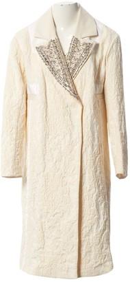 Tara Jarmon Ecru Cotton Jackets