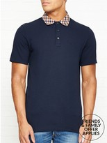 Aquascutum London Nathan Club Check Polo Shirt