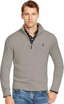 Ralph Lauren Half-Zip Cotton Sweater