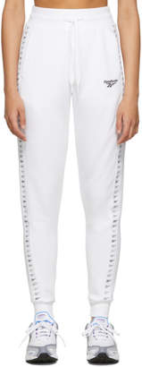 Vector Reebok Classics White Lounge Pants