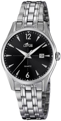 Lotus Women's Analogue Analog Quartz Watch with Stainless Steel Strap 18377/2