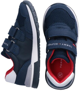 Tommy Hilfiger Tommy Low Flag Velcro Trainers