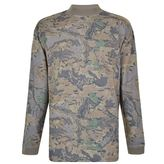 Yeezy Camouflage Mock Neck Wood T Shirt