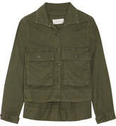 The Great The Swingy Army Canvas Jacket - Army green