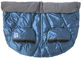 7AM Enfant Duo Double Stroller Blanket, Metallic Steel Blue by 7AM Enfant