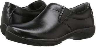 Dansko Ellie (Black Leather) Women's Clog Shoes