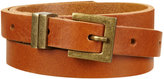 Topshop Leather Skinny Belt