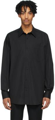 Ami Alexandre Mattiussi Black Oversized Fit Shirt
