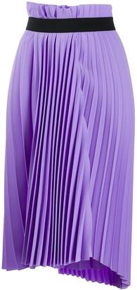 Balenciaga Pleated Elasticated Skirt