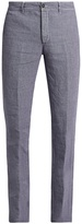 Massimo Alba Winch slim-leg linen trousers