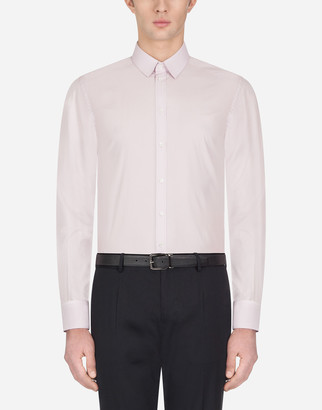 Dolce & Gabbana Gold Fit Shirt In Cotton