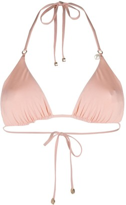 Stella McCartney Halterneck Triangle Bikini Top