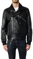 DSQUARED2 Classic Leather Biker Jacket