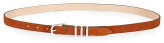 Rag & Bone Jet Slim Suede Belt