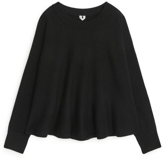 Arket Oversized A-Line Wool Jumper