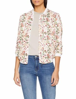 Damart Women's Veste Blouson Imprime Bomber Jacket