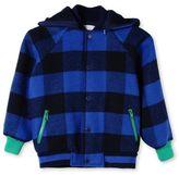 Stella McCartney blue checks conor jacket