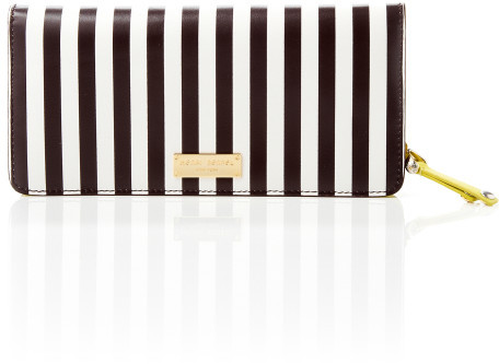 Henri Bendel Centennial Stripe Travel Wallet