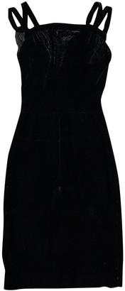 Alaia \N Black Velvet Dresses