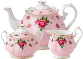Royal Albert Pink Vintage 3-pc. Bone China Teapot Set