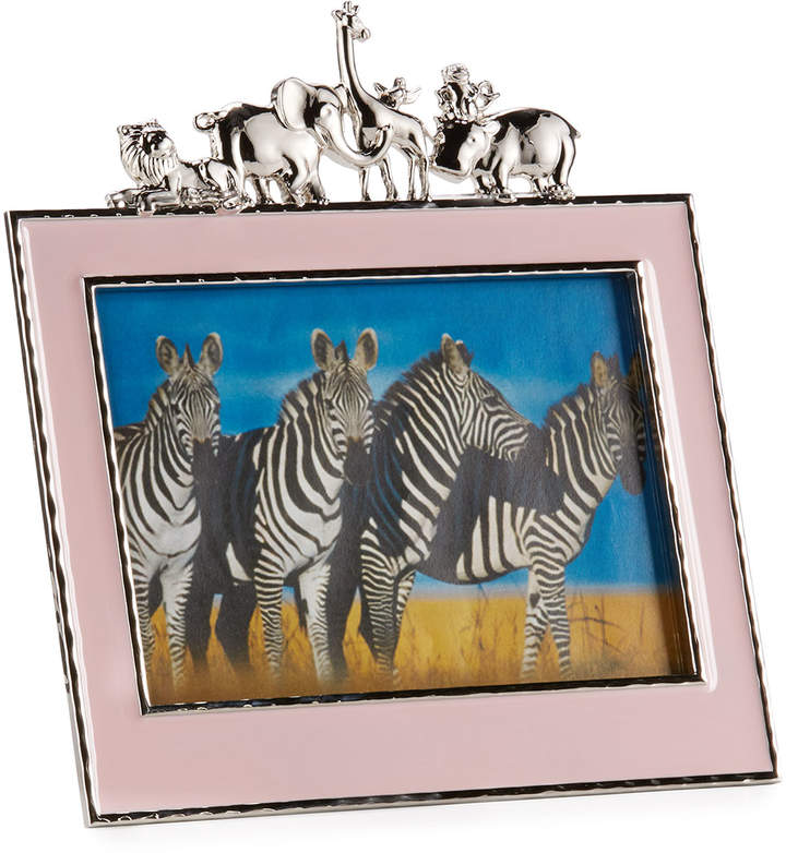 "Michael Aram Girls' Animals 5"" x 7"" Frame, Pink"