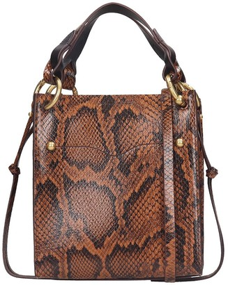Rebecca Minkoff Kate Tote In Brown Leather