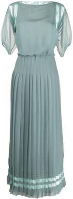 Giorgio Armani pleated shift dress