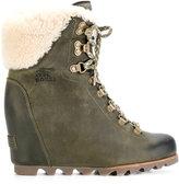 Sorel lace up boots