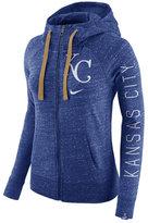 Nike Women's Kansas City Royals Gym Vintage Full-Zip Hooded Sweatshirt