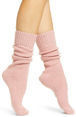 Rachel Parcell Slouchy Ribbed Socks