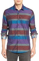 Robert Graham Vatican Hill Classic Fit Stripe Sport Shirt