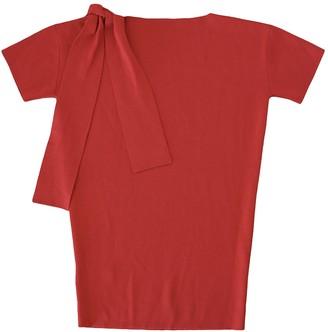 Miu Miu Red Wool Dresses
