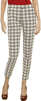 See by Chloe Checked cotton-jacquard pants