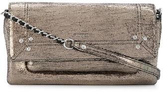 Jerome Dreyfuss Charly S metallic shoulder bag