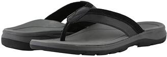 Vionic Dennis (Black) Men's Sandals