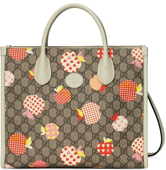 Gucci Les Pommes small tote