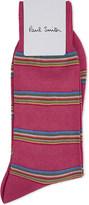 Paul Smith Pink Woven Comfortable Socks