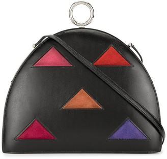 Hermes 1990's Triangle Motif Shoulder Bag