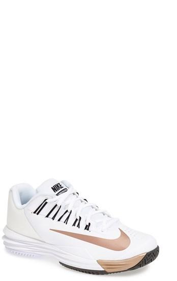 Nike 'Lunar Ballistec' Tennis Shoe (Women)