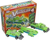 Popular Playthings Mix or Match Vehicles 4 Building Kit