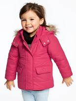 Old Navy Hooded Frost-Free Jacket for Toddler Girls
