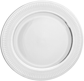 Ten Strawberry Street Set Of 6 Iriana Silver Charger Plates