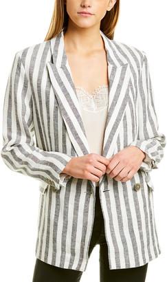 IRO Striped Linen Jacket
