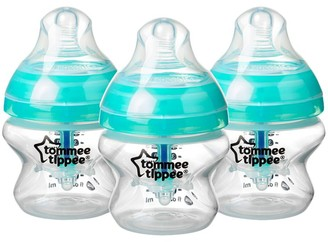 Tommee Tippee Advanced Anti-Colic Bottles, Pack of 3, 150ml