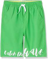 RED WAGON Boy's Catch The Wave Border Swim Shorts
