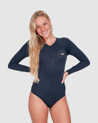 Roxy Womens Essentials Long Sleeve Zipped UPF 50 Onesie