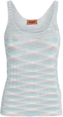 Missoni Pastel Knit Tank Top
