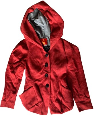 Vivienne Westwood Red Wool Jacket for Women
