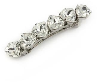 L. Erickson Swarovski Crystal Teardrop Barrette